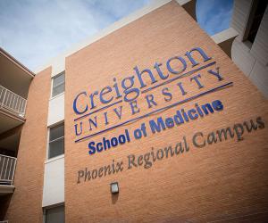 School of Medicine building in Phoenix