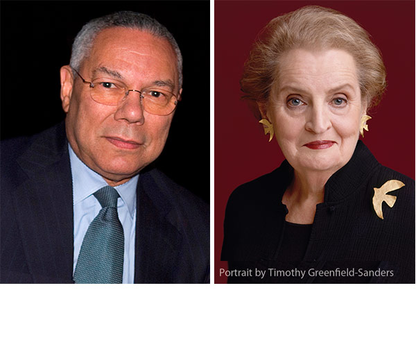 Powell and Albright photo
