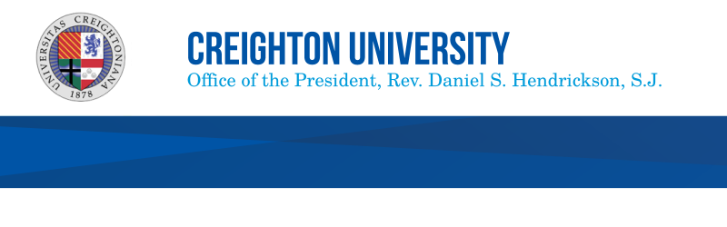 Creighton University - Office of the President, Rev. Daniel Hendrickson, S.J.