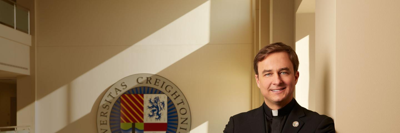 Rev. Daniel Hendrickson, S.J., 25th President of Creighton University